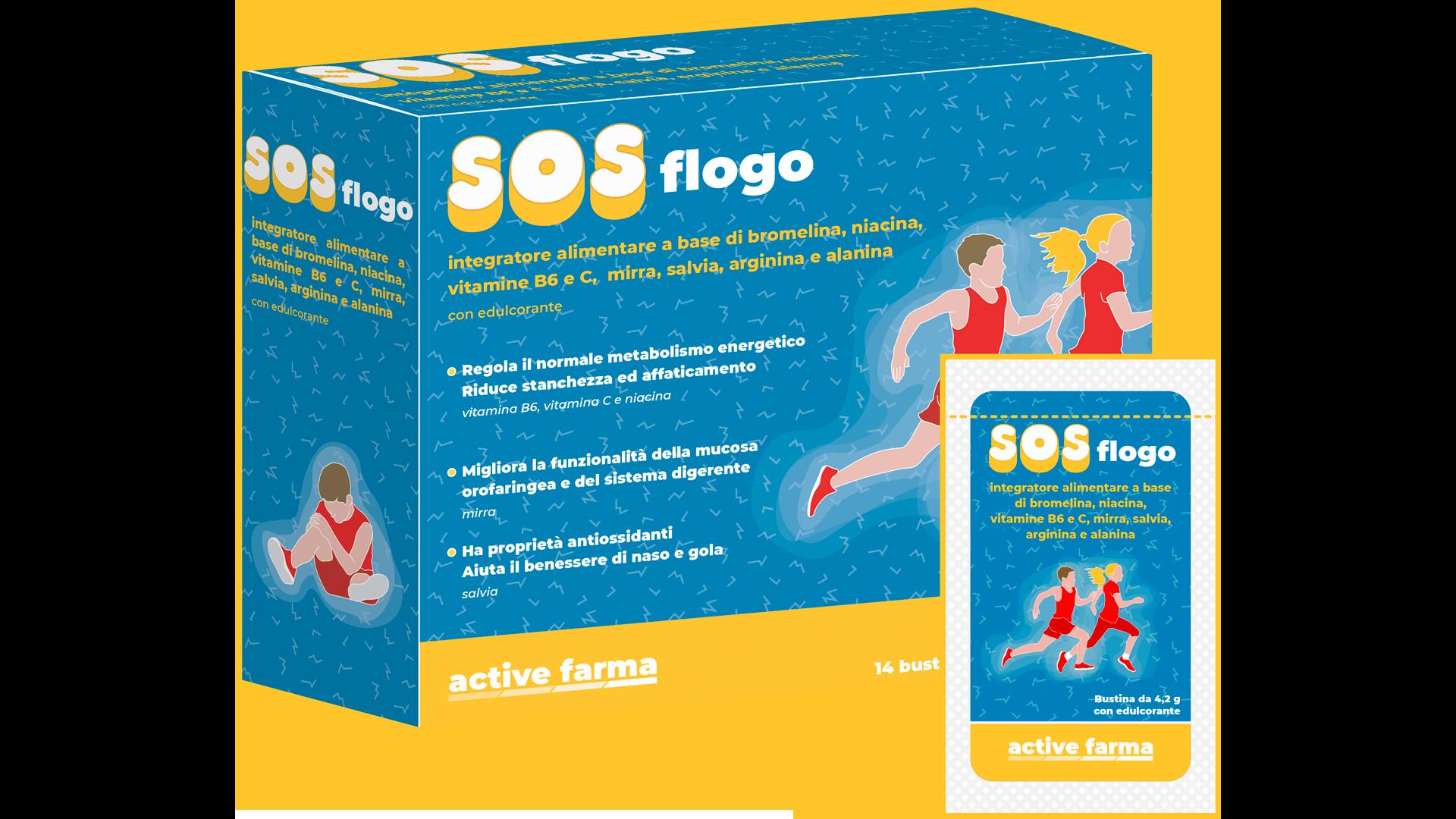 Confezione SOSflogo con flacone